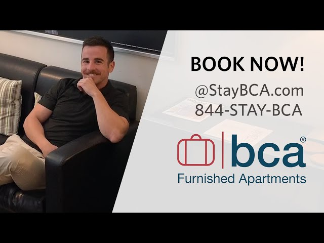 Chic Premium Studios - BCA Furnished Apartments - Atlanta Short-term Rentals & Temporary Housing