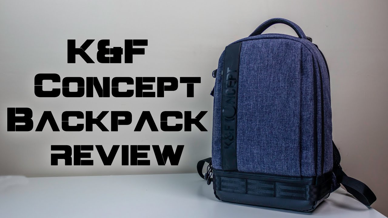d2abc68412e K F Concept Lightweight DSLR Camera Backpack - Review - YouTube