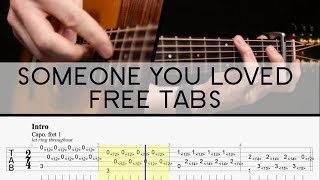 Download the tabs free here -- http://www.goliathguitartutorials.com/someone-you-loved.html support me & get early access http://www.patreon.com/garetheva...