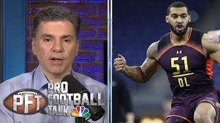 D.K. Metcalf and Montez Sweat put on show at Scouting Combine | Pro Football Talk | NBC Sports
