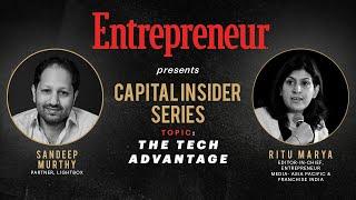 Capital Insider Series| Episode 6 with Sandeep Murthy, Partner, Lightbox