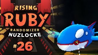THIS WHALE OWNS ME FOR 2018 - Pokemon Rising Ruby RANDOMIZER Nuzlocke #26