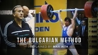 The Bulgarian Method | Explained by Max Aita | JTSstrength.com