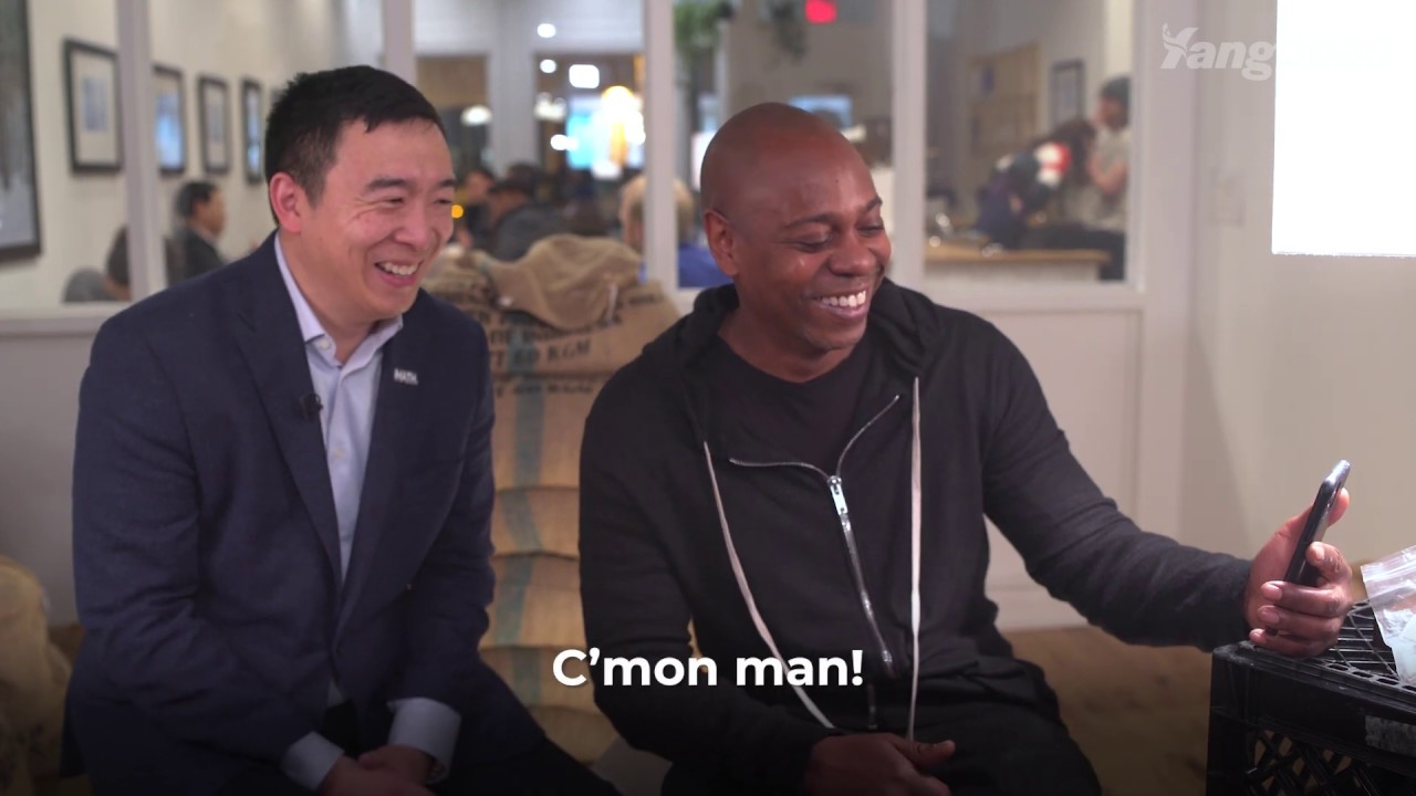 Dave Chappelle wants you to join the Yang Gang
