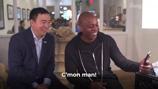 Dave Chappelle Wants You to Caucus for Andrew Yang on Feb. 3