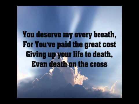 I Will Offer Up My Life with Lyrics by Matt Redman