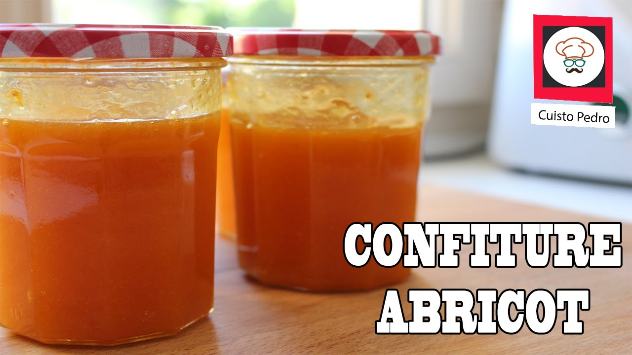 confiture abricot au thermomix