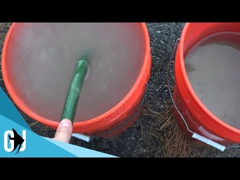 #104: How To Deep Clean Aquarium Sand Outdoors