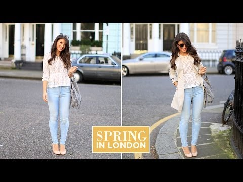 Spring in London Outfit of the Day