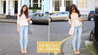 Spring in London Outfit of the Day Thumbnail