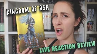 KINGDOM OF ASH BY SARAH J MAAS LIVE READING REACTION | Piéra Forde