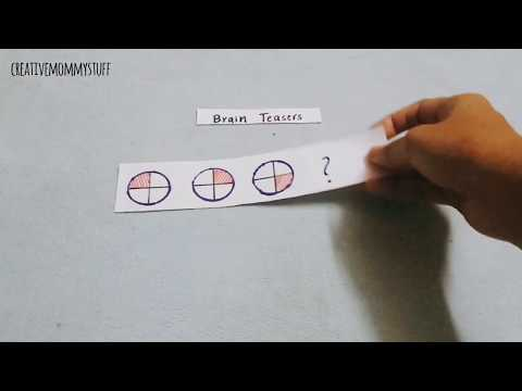 Brain Teaser Manipulative Puzzles for children