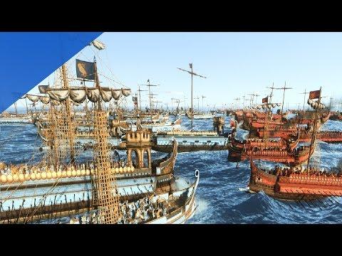 150 Кораблей! Морская Битва Римлян и Афинян в Rome 2 Total War!