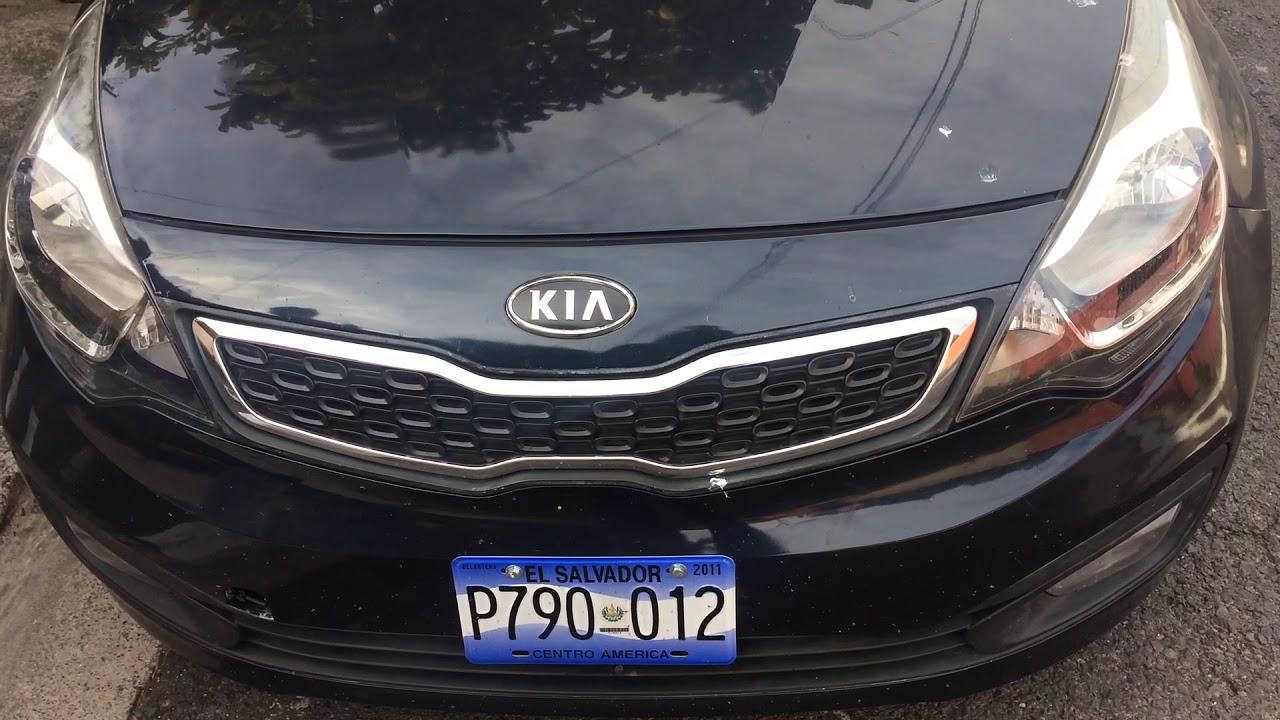 Kia Rio 2013 engine knock - YouTube