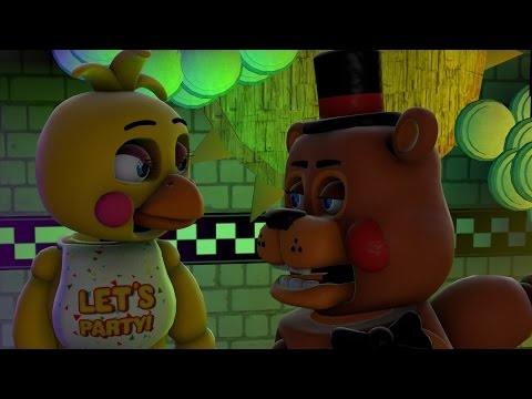 [Sfm/fnaf] Toy freddy flurt's with toy chica try not to laugh challenge