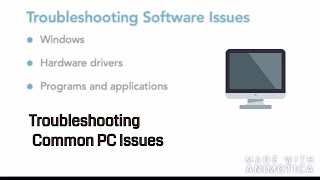 Troubleshooting Common PC Issues for Users | How to Solve Common System Issues