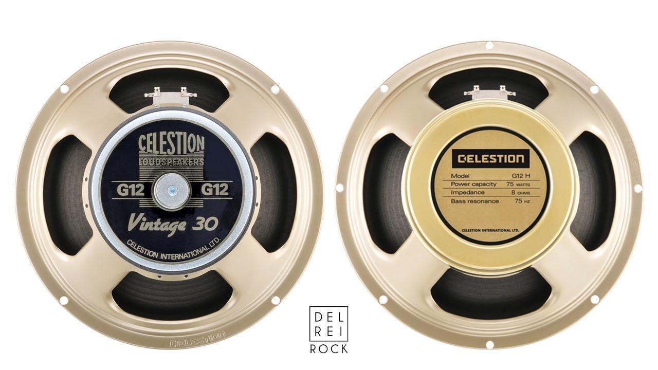 celestion creamback 75 vs vintage 30 youtube. Black Bedroom Furniture Sets. Home Design Ideas
