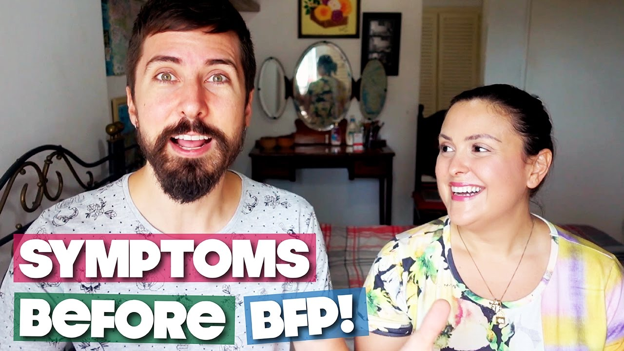TWO WEEK WAIT SYMPTOMS BEFORE OUR BFP!!!