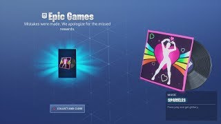 EPIC Games Made A Mistake! & Gave Me FREE Fortnite Lobby Music Reward!