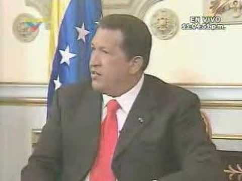 Hugo Chavez Interview