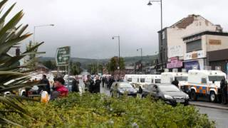 12 July 2014 - Orange Order parade through Carrick Hill and Ardoyne Belfast