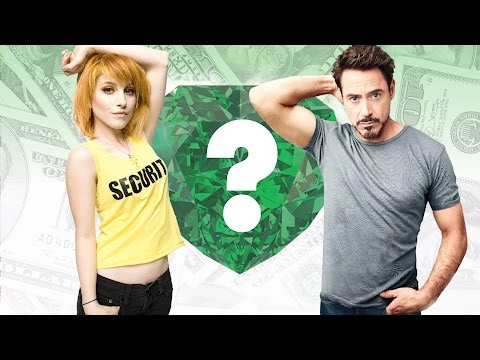 WHO'S RICHER? - Hayley Williams or Robert Downey Jr.? - Net Worth Revealed!