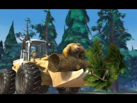 Медведи-соседи 🐻 | 1 сезон 26 серия | Ходячие деревья | Мультики детям