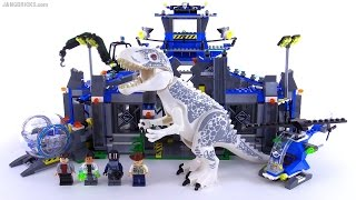 LEGO Jurassic World Indominus Rex Breakout review! set 75919