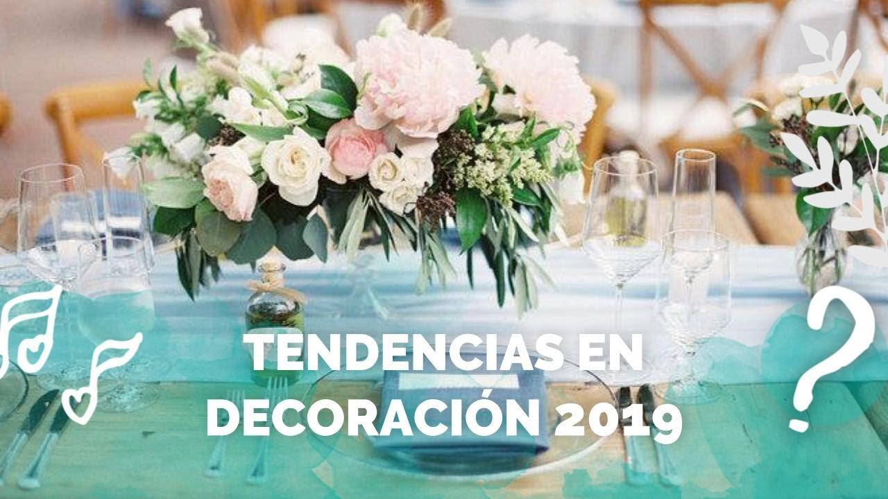 Decoraci n de bodas las tendencias para 2019 youtube - Decoracion unas para boda ...