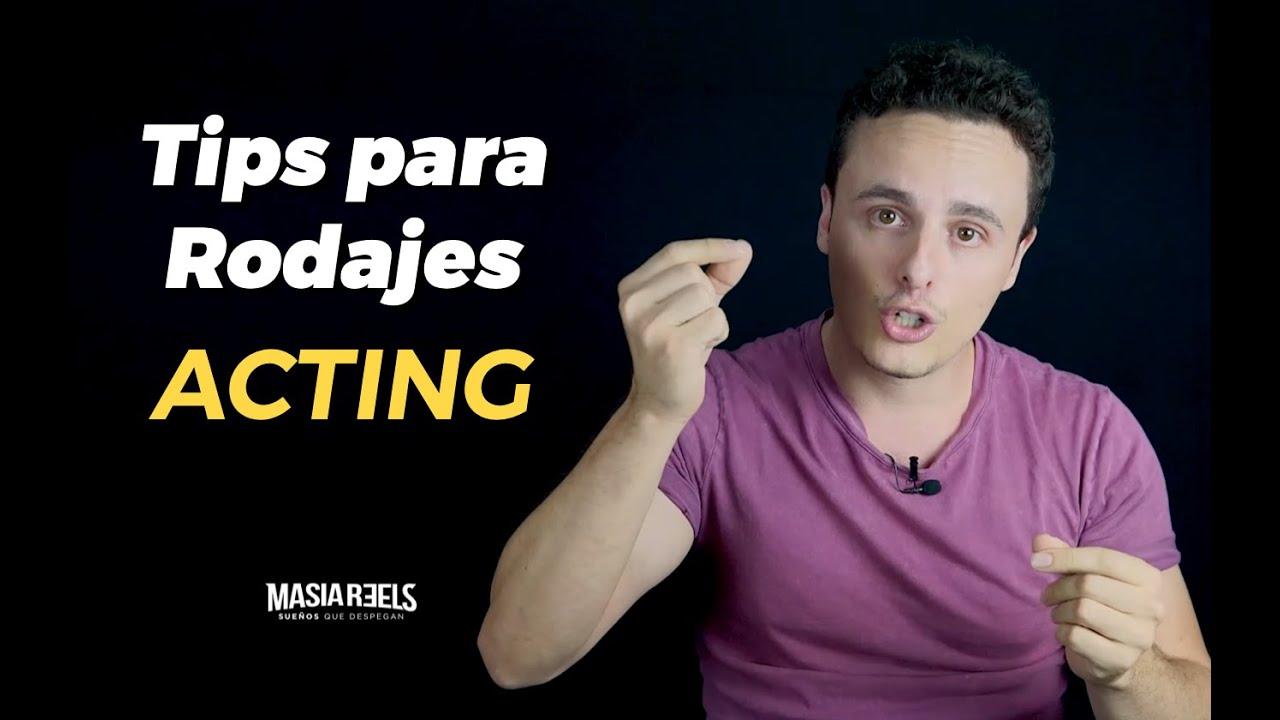 RUEDA GRATIS TU VIDEOBOOK - tips de Acting