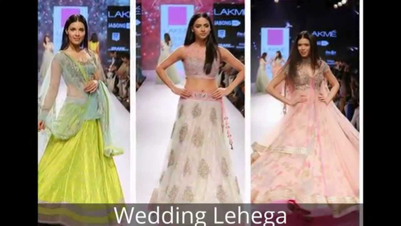 Lehenga choli fashion show 21