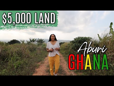 $5,000 LAND IN GHANA, ABURI | LOOKING FOR LAND IN GHANA TO BUILD MY DREAM HOUSE | EP.3
