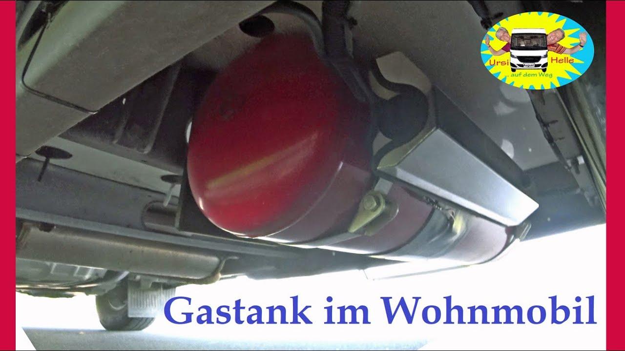 Fest eingebauter Gastank im Wohnmobil - # 8