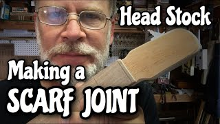 How to make a Scarf Joint Headstock for your Cigar Box Guitar