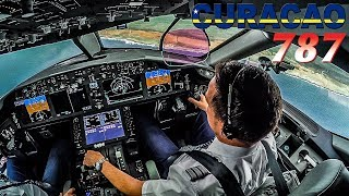 Piloting the Boeing 787 Dreamliner into Curaçao