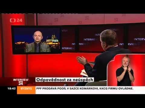 M.Hašek hostem Interview ČT - 15.10.2012