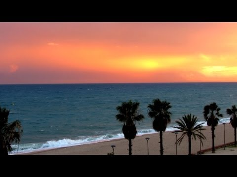 Nature Sounds Relaxing Ocean Sounds, HD 1080p , Sleep