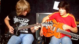 Hard As A Rock Live - Angus & Malcolm Young Parts