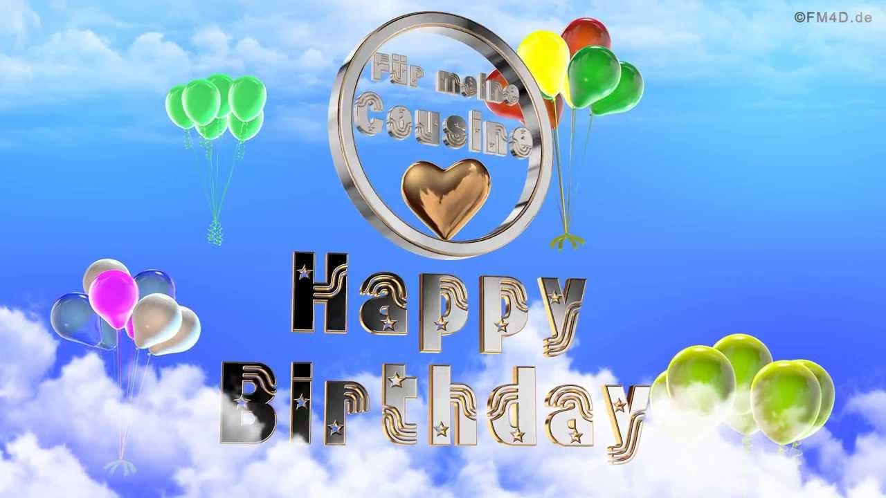 Alles Gute Zum Geburtstag Cousine