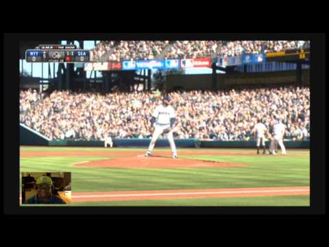 MLB 14 The Show PS4 - The New York Yankees Vs The Seattle Mariners