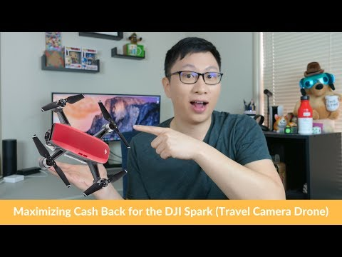 Smart Shopping: Max Cash Back for the DJI Spark (Travel Drone)