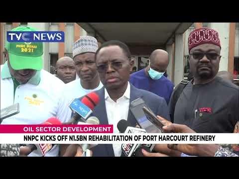 NNPC Kicks Off N1.5BN Rehabilitation Of Port Harcourt Refinery