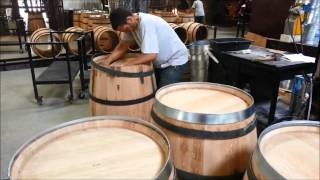 How Wine Barrels Are Made - Demptos Bordeaux 2013