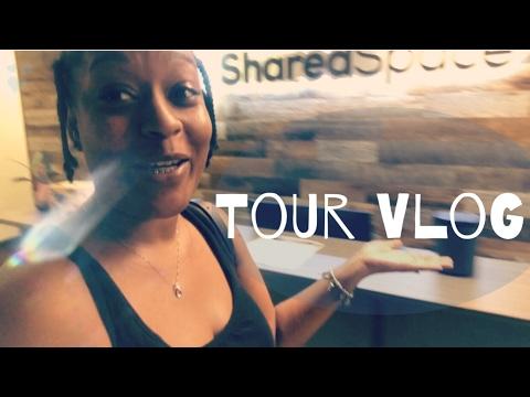 TOUR VLOG: SharedSpace Atlanta JUNE MADNESS DAY 9 | HelloAlexys