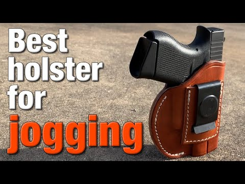 Best leather holster for running with a Glock 43