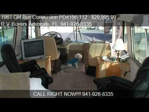1961 GM Bus Conversion PD4106-112 - for sale in , FL 34239