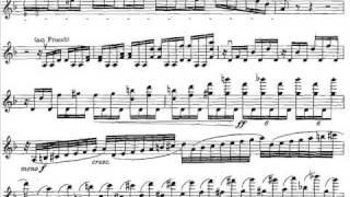 Dohnanyi, Ernst von Dohn violin concerto 1 mvt1 (end) op. 27