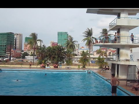 swimming pool at olympic stadium in phnom penh city - Olympic Swimming Pool 2015
