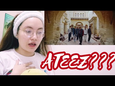 FIRST TIME REACTING TO ATEEZ