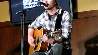 "Dierks Bentley, ""Come a Little Closer,"" LIVE 2/4/09"